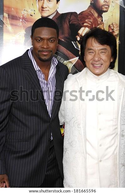 Chris Tucker Jackie Chan Rush Hour Stock Photo Edit Now