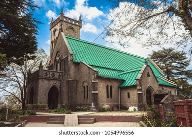 christ church in Kasauli, Himachal Pradesh, India