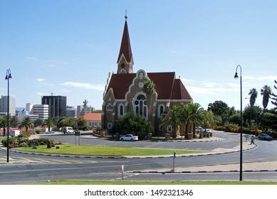 The Christ Church (or Christuskirche) is a historic landmark and Lutheran church in Windhoek, Namibia