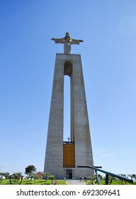 Christ the King monument. Lisbon, Portugal