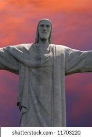 Christ the Redeemer statue on Corcavado Mountain, Rio