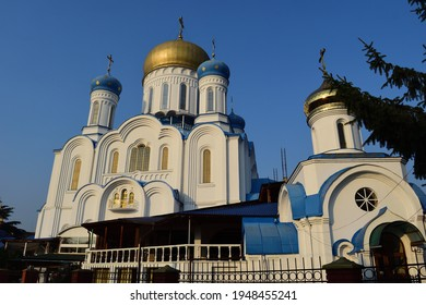 Christ the Saviour Cathedral in Uzhgorod Transcarpathia, Ukraine