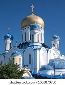 The Christ the Saviour Cathedral in Uzhhorod in Ukraine