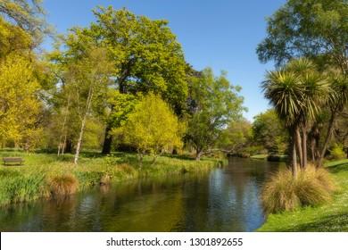 Christchurch Botanical Gardens Avon River