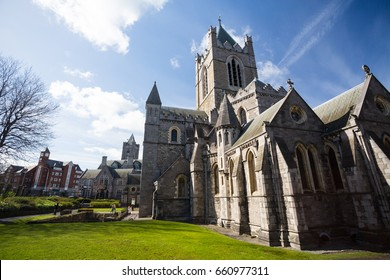 Christchurch Cathedral in Dublin City, Ireland