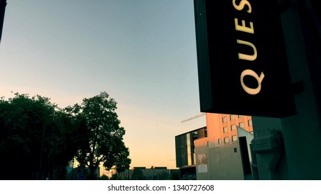 Christchurch city, Canterbury region,New Zealand - February 17th 2019 : the atmosphere of the quiet and peaceful city before the terrible tragedy - image