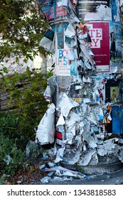 Christchurch, New Zealand, April 24, 2013: Views of abandonment and damage following the 2011 earthquake which caused widespread damage thoughout the New Zealand south island city of Christchurch