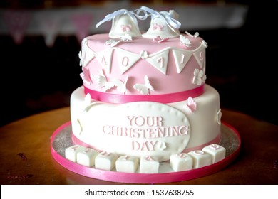 Christening cake examples for boys and girls