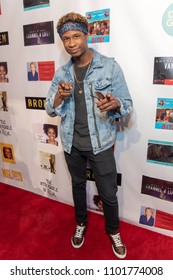 Christian Broussard attends FYC Us Underdog Emmy Screenings and Charity Event at Van Nuys/Reseda Elks Lodge at Van Nuys/Reseda Elks Lodge, Los Angeles, CA on May 25th, 2018