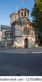 The Christian Church by St. Panteleimon. This photo was taken in Chisinau the capital of the Republic of Moldova on August 30 2018.