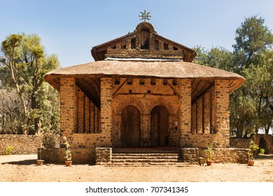 Christian church in Gondar, Ethiopia. It was named Debre Birhan Selassie, Trinity and Mountain of Light, and it is historic church in Gondar.