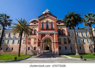 Christian monastery in New Athos, Abkhazia