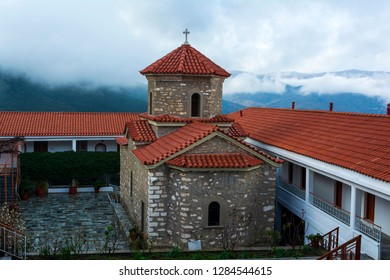 Christian orthodox monastery of the Virgin Mary in Malevi, Peloponnese, Greece. It is one of the most important monasteries in the Kynouria province.