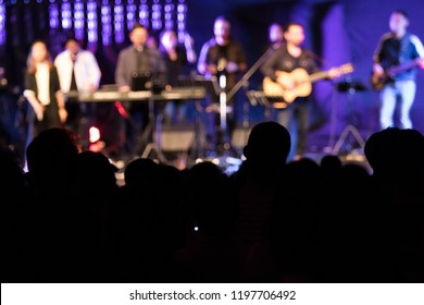 Christian raised and for joyful and worship  in christian concert