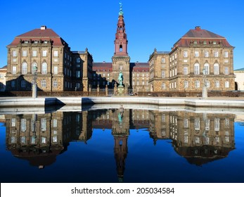 Christianborg palace in Copenhagen