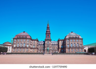 Christiansborg Palace is a palace and government building on the islet of Slotsholmen in central Copenhagen, Denmark