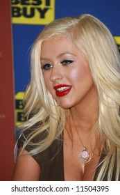 Christina Aguilera  at an In-Store Appearance to promote the BACK TO BASICS - LIVE AND DOWN UNDER  Concert DVD held at Best Buy,  Hollywood.