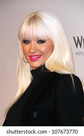 Christina Aguilera  at 'Rock The Vote'. Esquire House, Hollywood, CA. 09-25-08