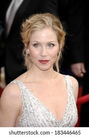 Christina Applegate at ARRIVALS - 44th Annual Screen Actors Guild Awards, SAG,, The Shrine Auditorium & Exposition Center, Los Angeles, CA, January 27, 2008 Photo by Michael Germana/Everett Collection
