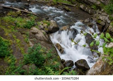 Christine Falls in Mount Rainier National Park