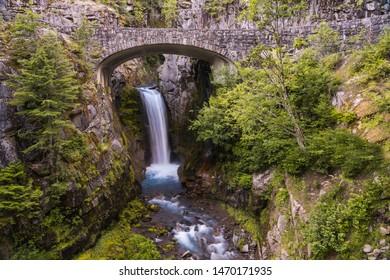 Christine Falls at Mt Rainier National Park