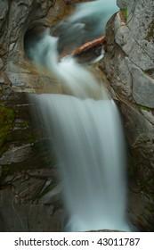 Christine Falls in Mt. Rainier National Park