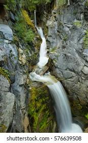 Christine Falls at Mt. Rainier National Park, Whasington, USA