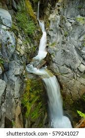 Christine Falls at Mt. Rainier National Park, Washington, USA