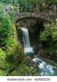 Christine Falls Mt Rainier National Park