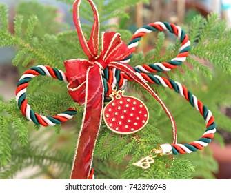 Christmas 2018 lucky charm - home decor - Christmas ornaments
