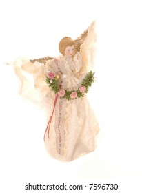 christmas angel isloated on white background