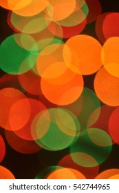 Christmas background bokeh colorful Christmas lights magical night defocused lights in the dark a positive festive round shiny all colors