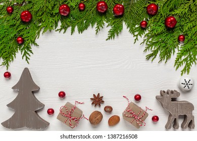 Christmas - background with Christmas decorations