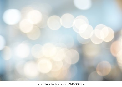 Christmas background. Festive abstract background with bokeh defocused lights and color