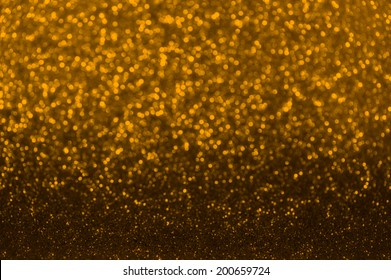 Christmas Background. Holiday Abstract Glitter Defocused Background With Blinking Stars. Blurred Bokeh