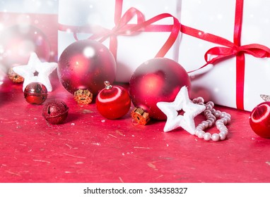 christmas background, Holiday decoration