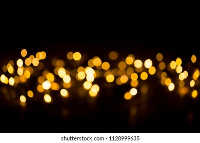 Christmas background with light spots and bokeh.