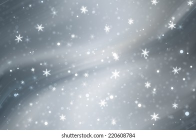 christmas background. the winter background, falling snowflakes