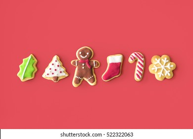 Christmas Bakery Gingerbread Cookies