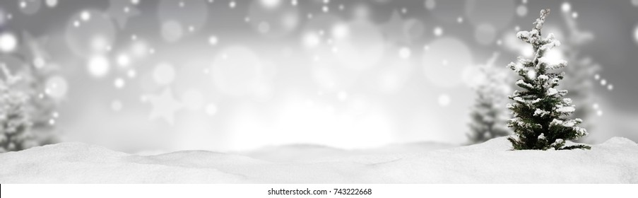 christmas banner panorama background