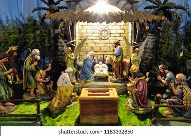 Christmas betlehem creche