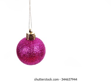 christmas big gift in a white background