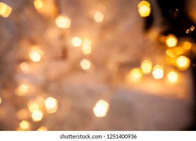 christmas bokeh. Christmas background. Christmas bokeh light abstract holiday background. defocused lights decoration on christmas tree. background for holiday card