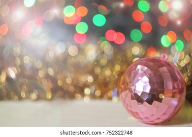 christmas bokeh blurred colored background