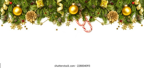 Christmas Boarders.Gold Christmas Borders Images Stock Photos Vectors