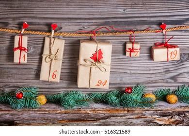 Christmas Calendar, gifts for advent