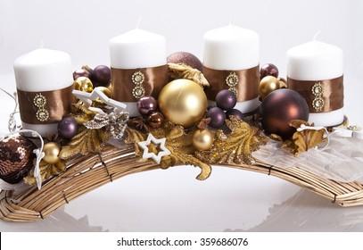 Christmas candelstick