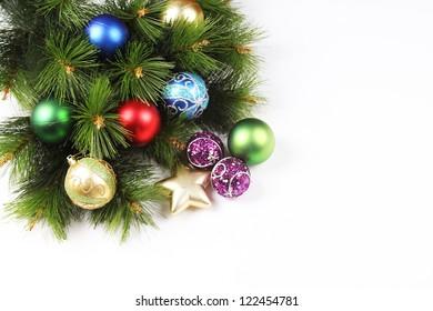 Christmas card, Christmas border