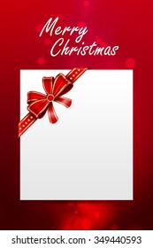 Christmas card / Christmas Greeting Card /  Christmas background / card