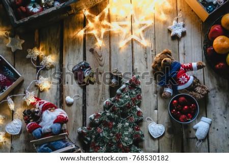 Christmas Card Holidays Background Christmas Tree Stock Photo Edit
